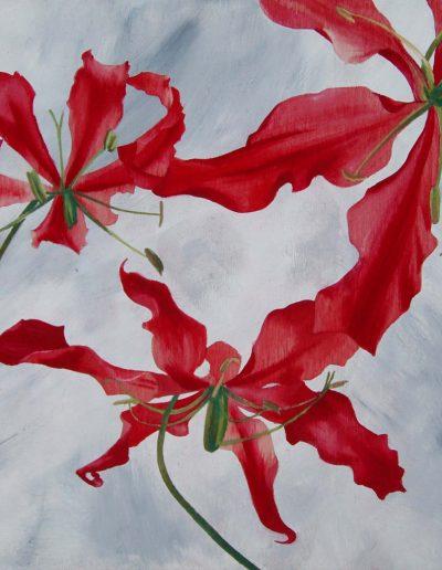 stage de peinture florale sur bois à Antony