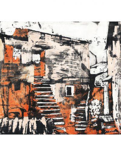 stage de peinture à l'encre et gouache, atelier hirennette, près d'Antony