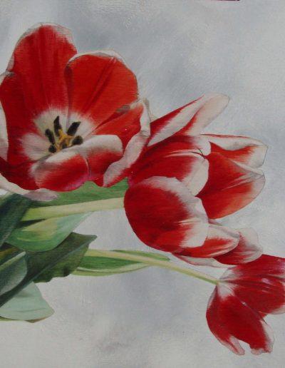 stage de peinture florale aquarelle sur bois à Antony